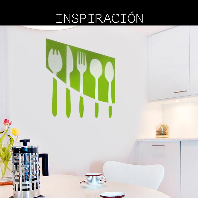 Sin importar el tamaño del diseño, un vinilo colorido puede transformar tus espacios.