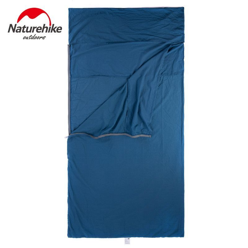 Naturehike Single Double Sleeping Bag Liner Envelope Ultra-light Portable Cotton Sleeping Bag Liner For Outdoor Camping