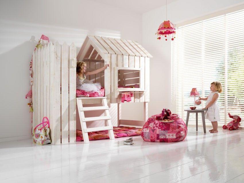 Meisjes hoogslaper kids bedrooms pinterest ideen