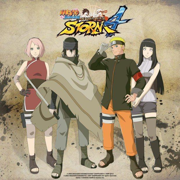 Naruto Shippuden: Ultimate Ninja Storm 4 - immagini e dettagli sui personaggi