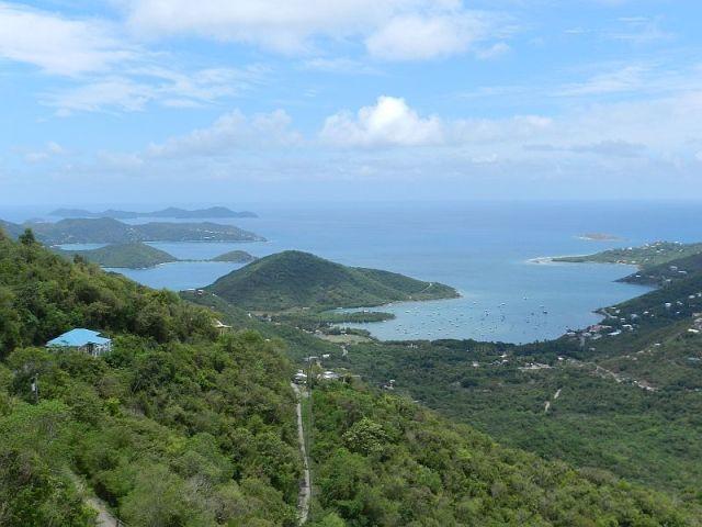 Coral Bay Harbor views...  Seaclusion Villa - St. John US Virgin Islands - Click for details...