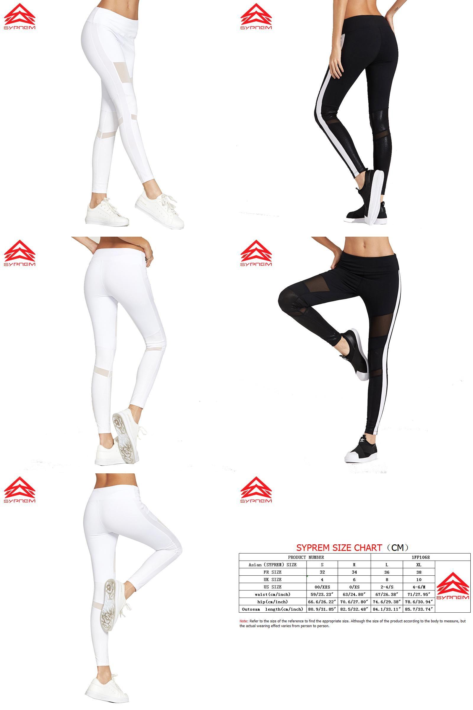 170433df17f63 [Visit to Buy] Syprem 2017 Spring Women Sexy Yoga Sports Pants Compression  Leggings Hollow Mesh Leggings Gym Skinny Fitness Sportswear,1FP1014 # ...