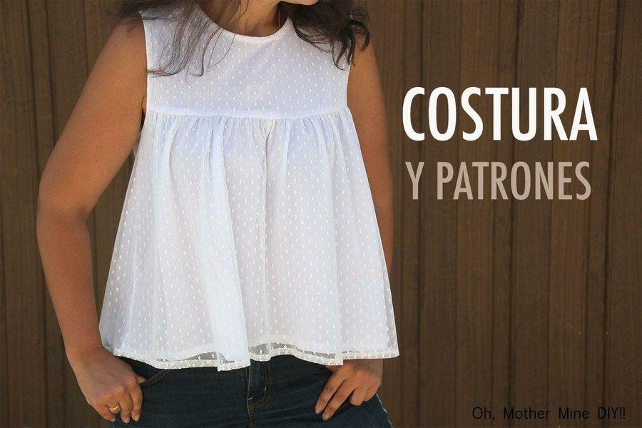 Tutorial de costura: cómo hacer blusa plumeti (patrones gratis ...