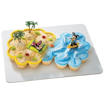 Mickey Mouse Cupcake Cake Kids Cupcake Cakes Birthday
