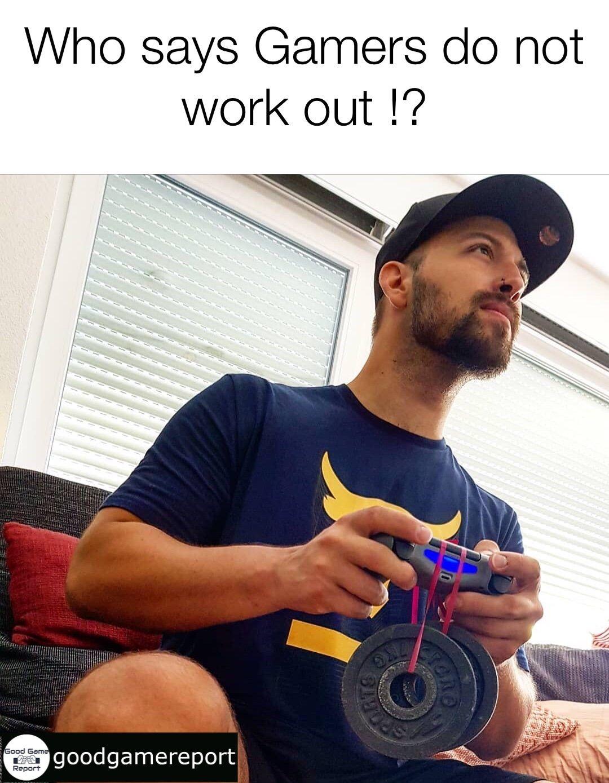 Gaming Workout Video Game Memes Gaming Memes Workout