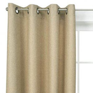 Tan Curtains For A Neutral Colored Wall Modern