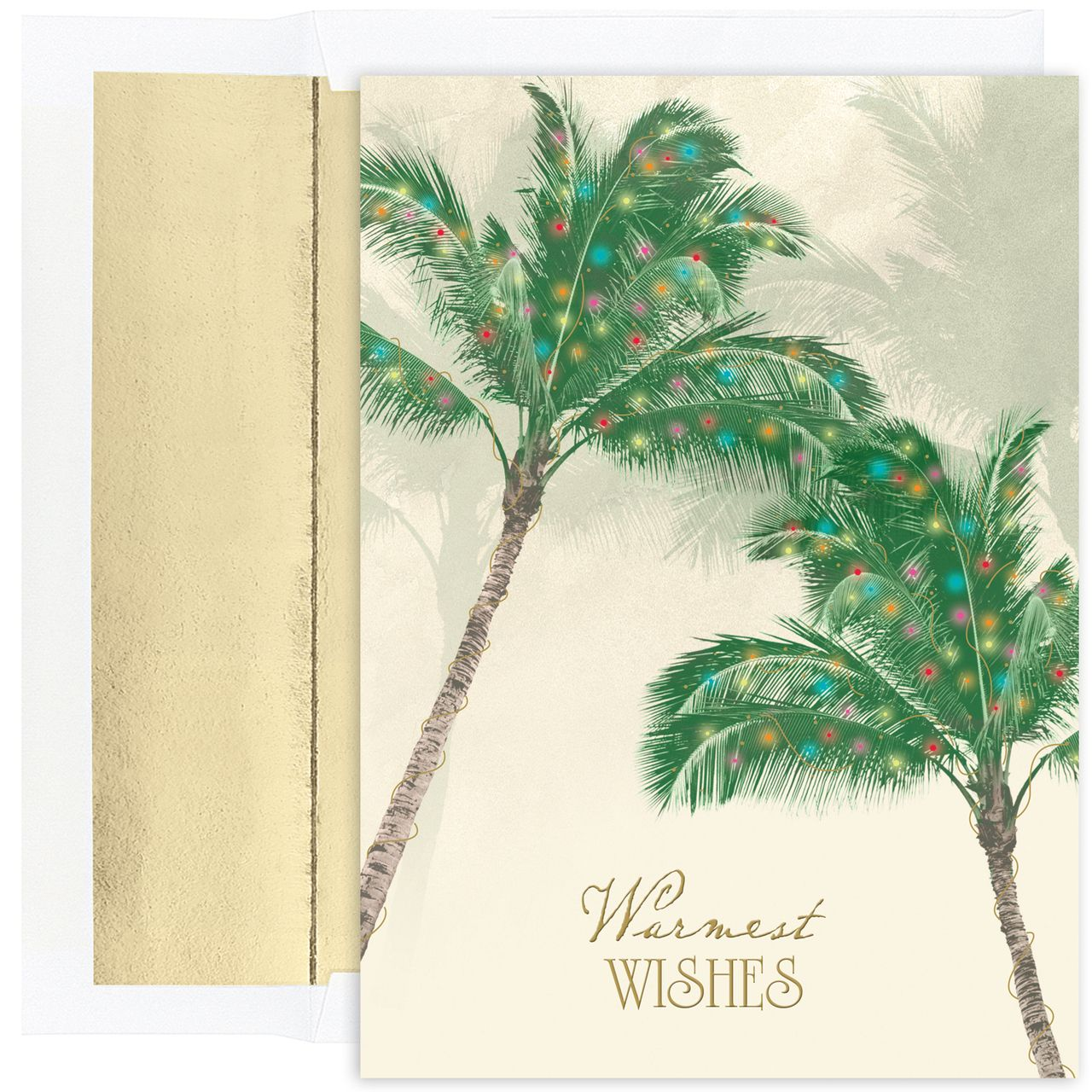 Palm trees tropical beach holiday card 1260 httpwww masterpiece palm trees set of 18 greeting cards with envelopes holiday lane for the home macys kristyandbryce Choice Image