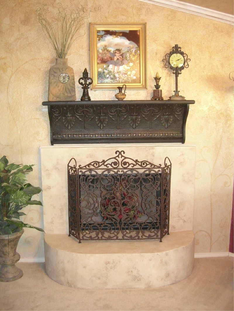 Painted brick fireplaces bing images craft ideas pinterest
