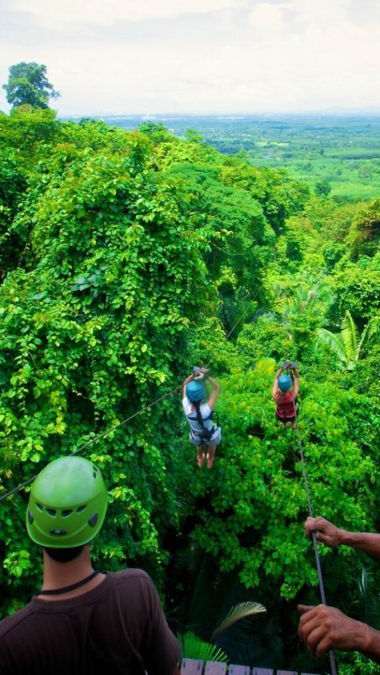 Cable Rides/Canopy Adventures Kao Yai Da - Pattaya, Thailand