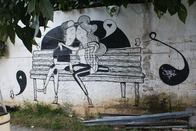 O graffiti de Alex Senna