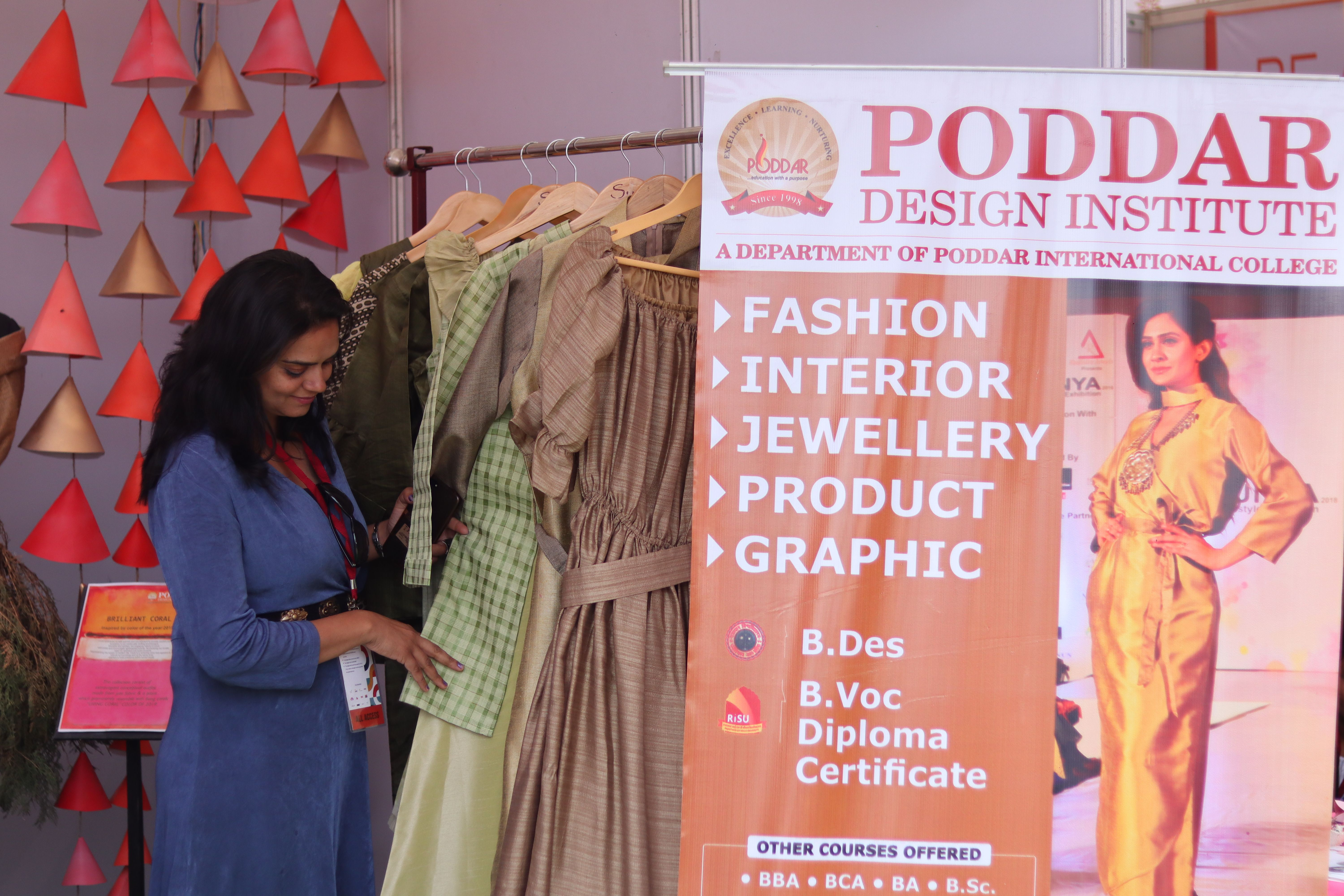 Pin By Poddar Group Of Institutions On Design College Design College Fashion Design
