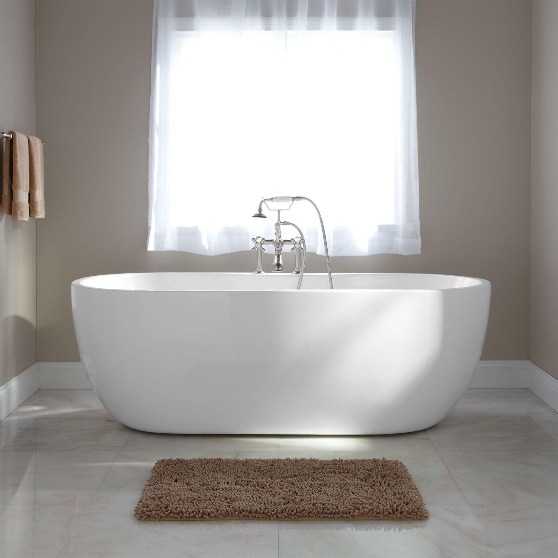 Small Standalone Tub Free Standing Bath Tub Acrylic Tub Free