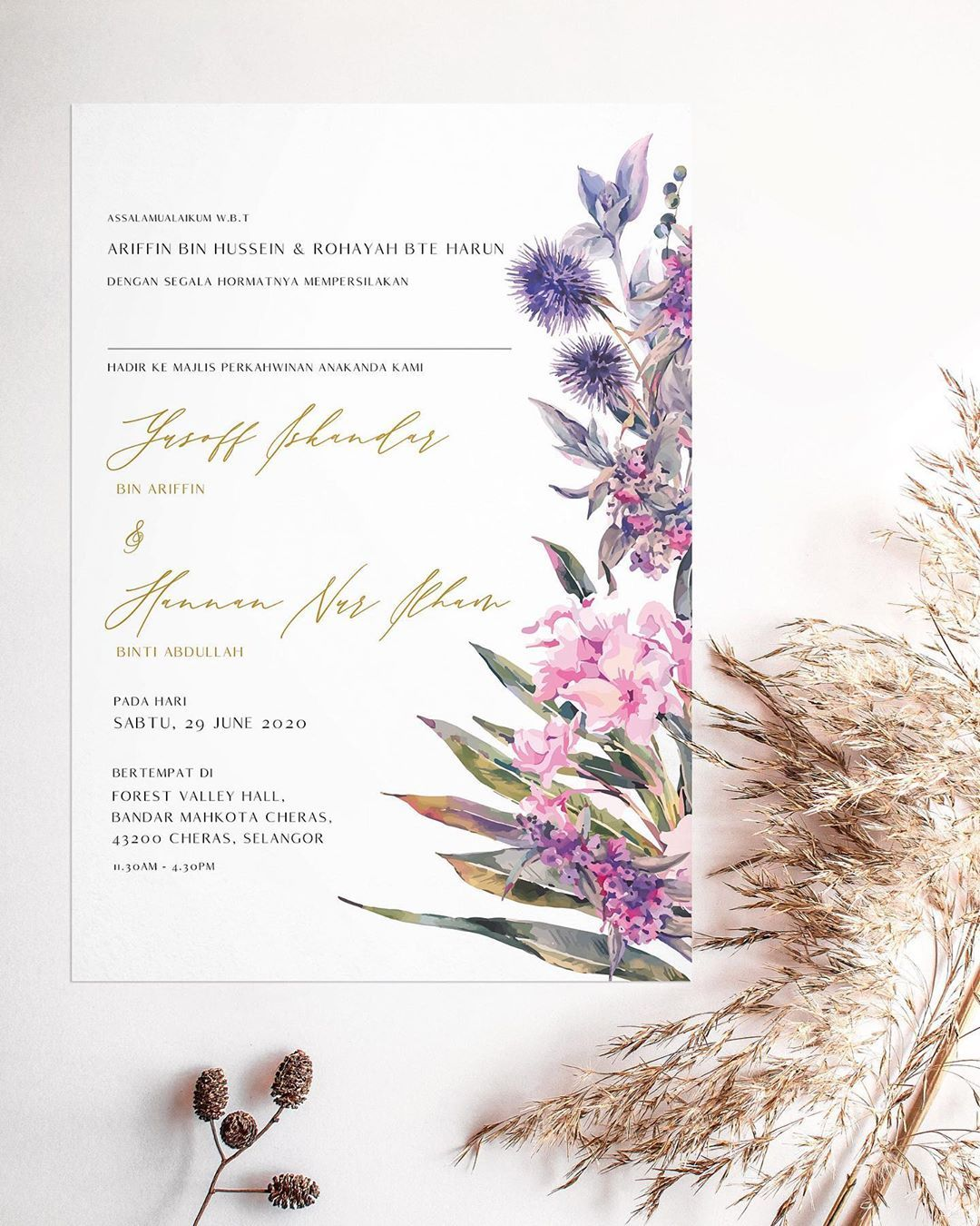 77 Likes 3 Comments Wedding Event Stationery Nigina Art On Instagram New Design To Order Kindly Pm Whatsapp Us At In 2020 Wedding Cards Wedding Kad Kahwin