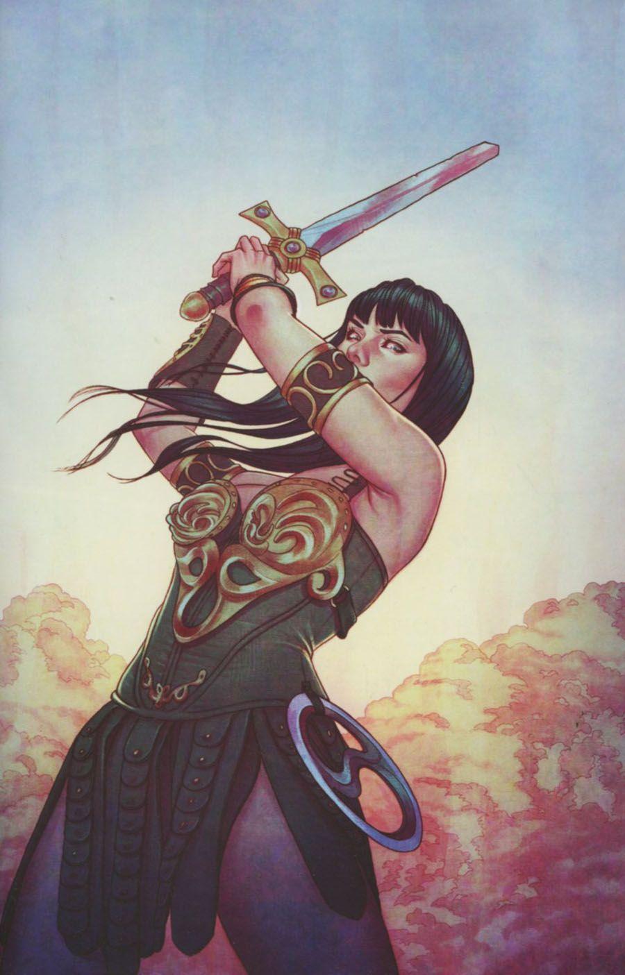 Xena warrior princess vol 3 #5 cover b incentive jenny frison virgin