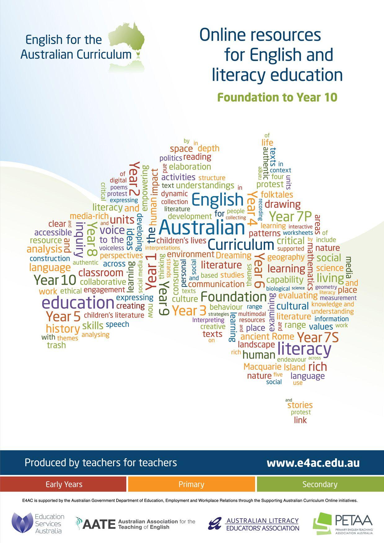 English For The Australian Curriculum