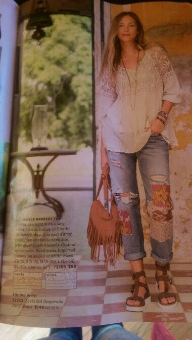 I want this whole outfit -- down to her jewelry.  <3 <3 <3