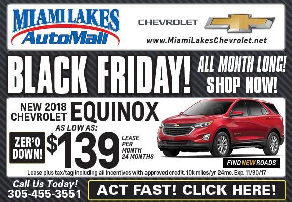 Black Friday Specials Chevy Silverado And 2018 Chevy Equinox
