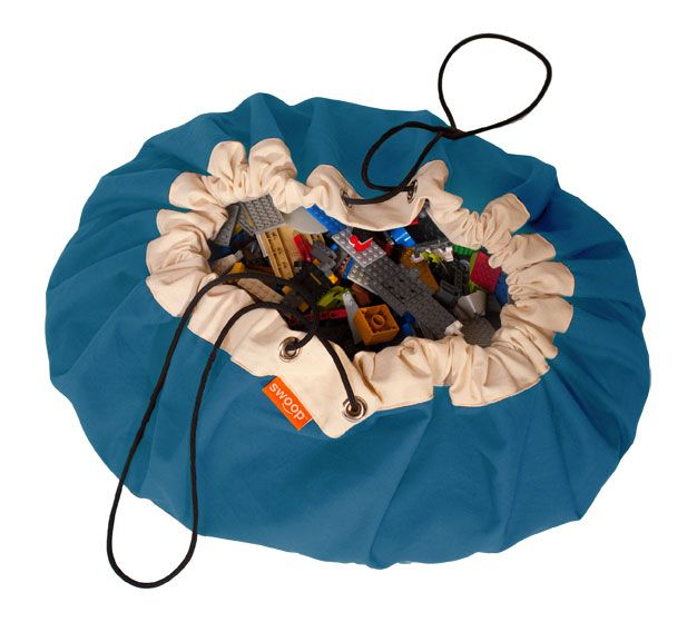 Swoop Bag Drawstring Bag For Large Collections Of Toys Like Legos