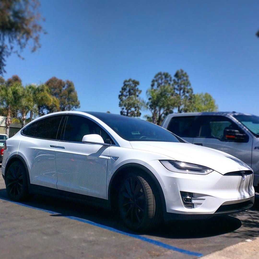 We Just Got This New Tesla Model X Pd In For Front Clear Bra And Chrome Delete What Do You Think About Electric Vehicles That Do  In Under  Seconds