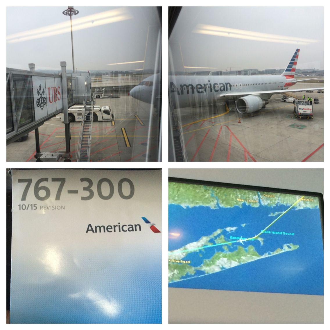 2016 0321 American flight 65 Zurich to JFK B767300