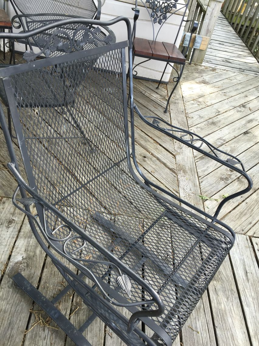 Salterini Patio Furniture Parts: Salterini Oak Leaf Bouncing Chair