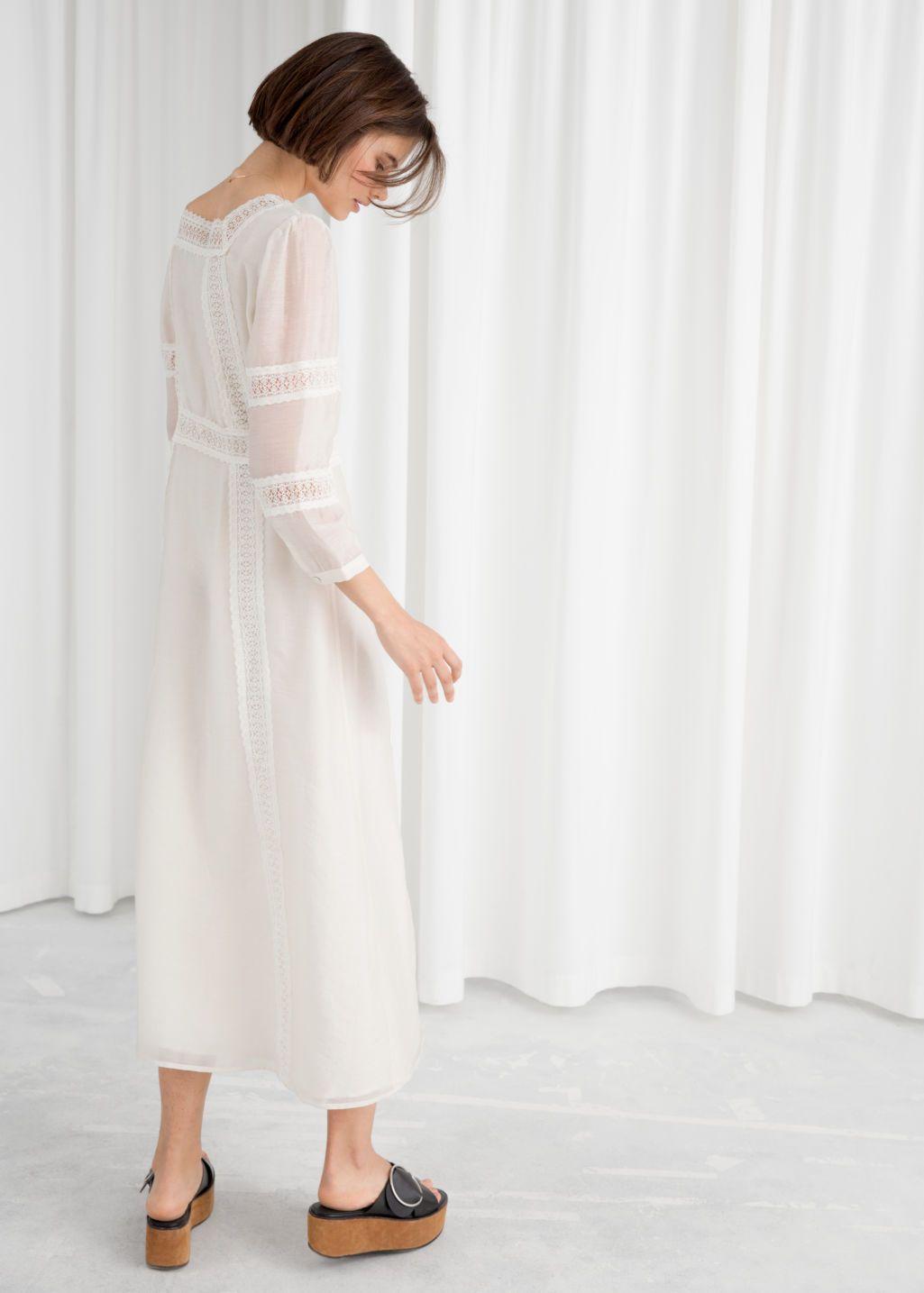 Pdp Midi Dress Dresses Lace Midi Dress [ 1435 x 1025 Pixel ]