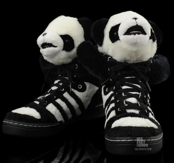 on sale 095d4 3e98b adidas originals by originals jeremy scott  preorder - i m imagining  yo-landi from die antwoord wearing these today.