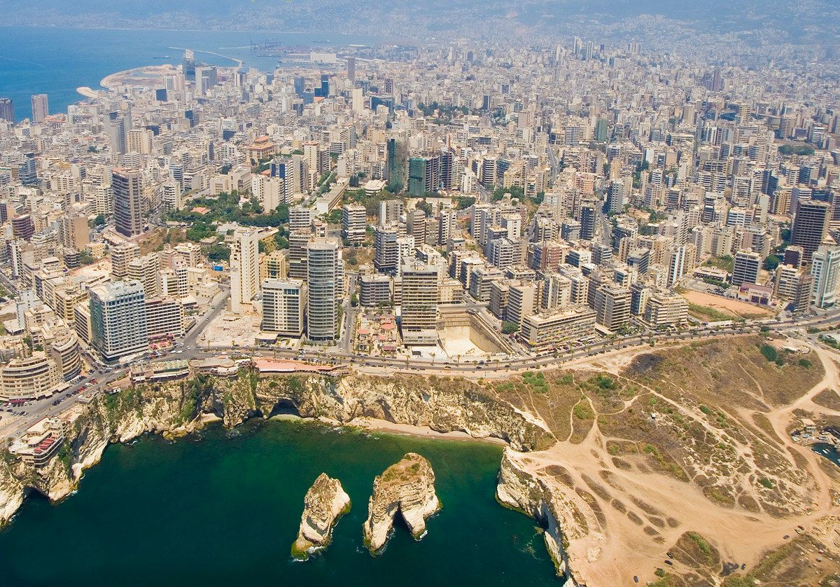 Beirut Lebanon Beirut Landscape Scenery Countries To Visit