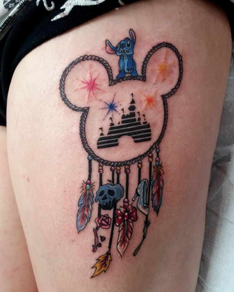 Disney Dream Catcher By Ghpthree Art Gallery Tattoos Colorado Springs