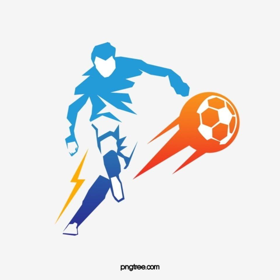 تصميم لاعب كرة القدم عالية الوضوح إبزيم المواد كرة القدم تصميم لاعب كرة القدم حركة Png وملف Psd للتحميل مجانا Sports Art Soccer Poses Soccer Players
