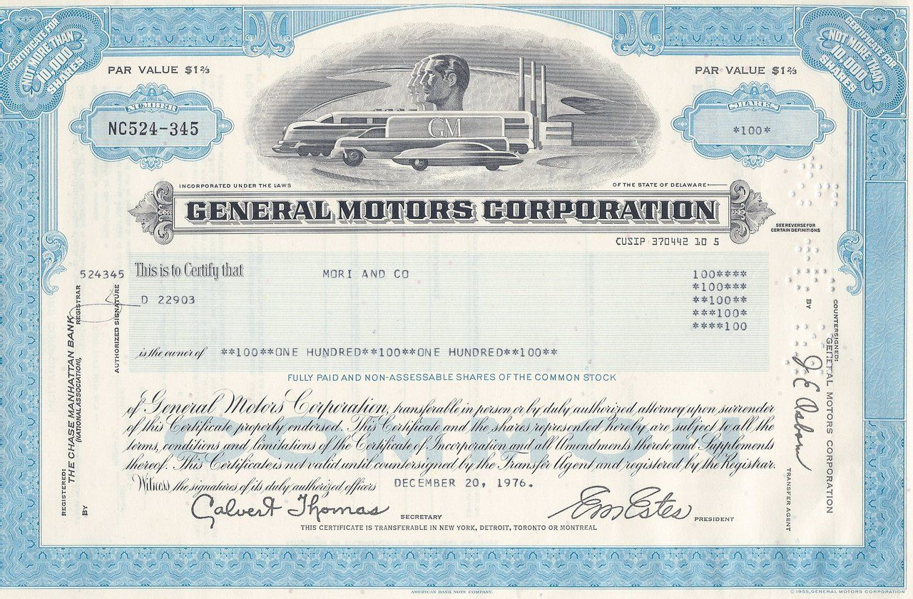 General Motors Gm Modern Common Colors 1970 S General