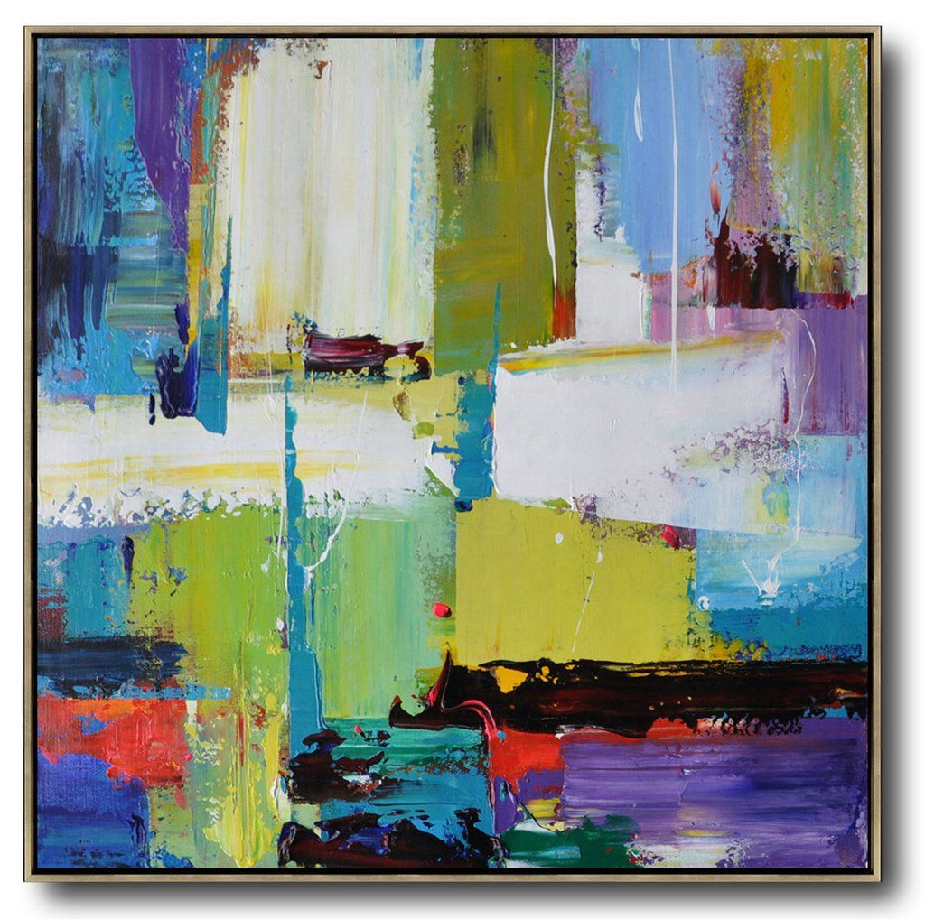 Palette Knife Contemporary Art C2A Abstract canvas art