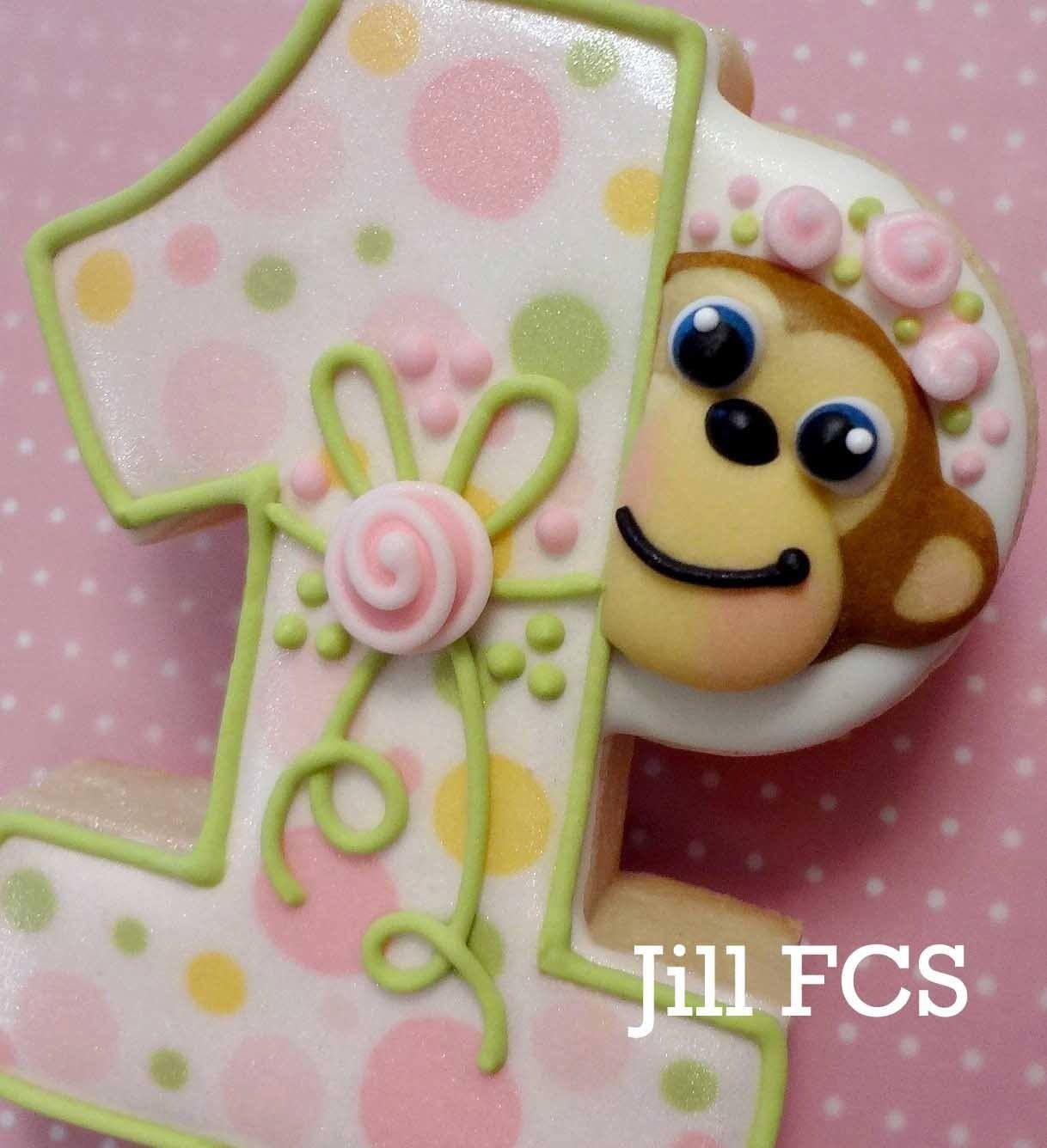 Birthday cookie by Jill FCS