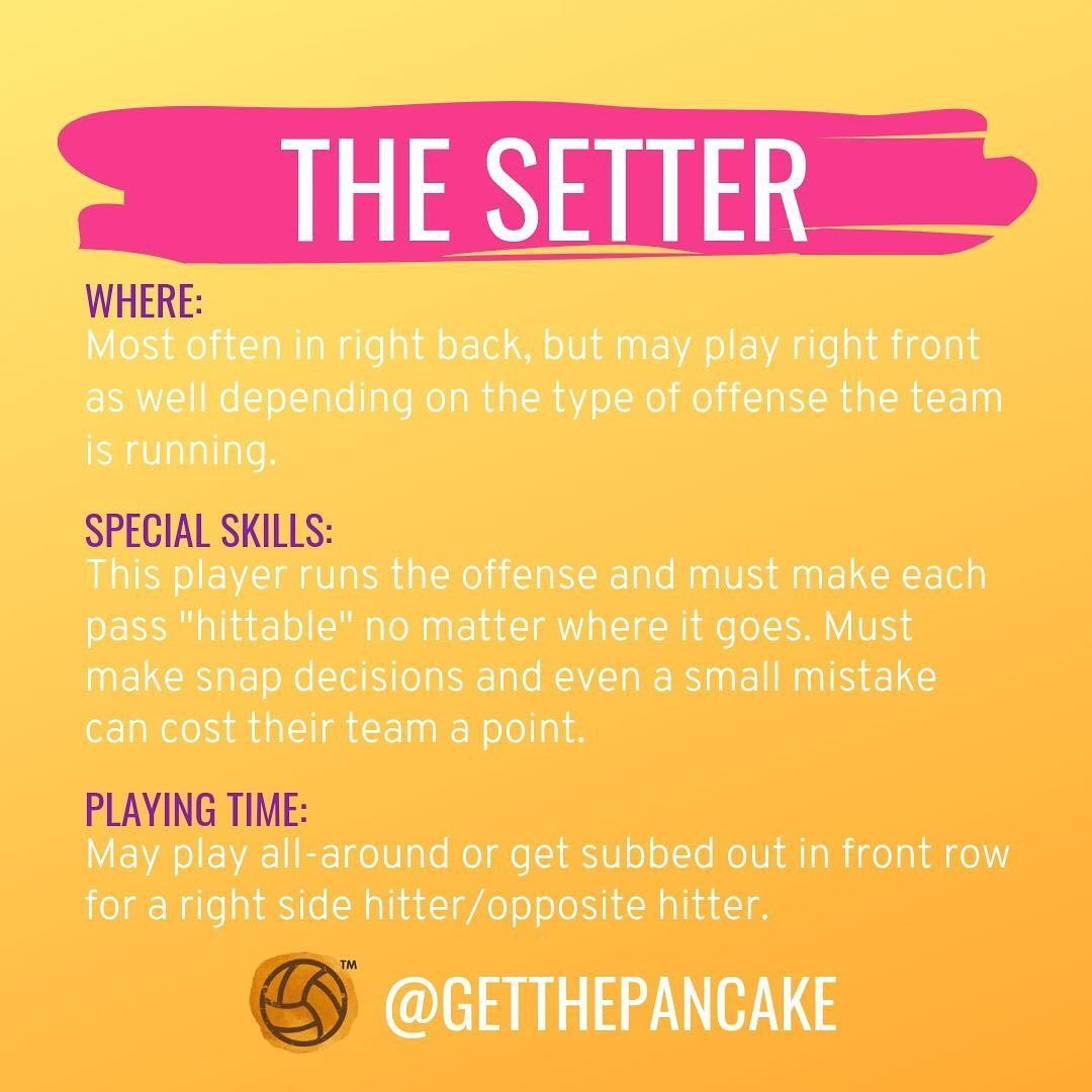Volleyball Get The Pancake On Instagram What Else Should People Know About Setters Comment Below In 2020 Volleyball Workouts Volleyball Tryouts Volleyball Team
