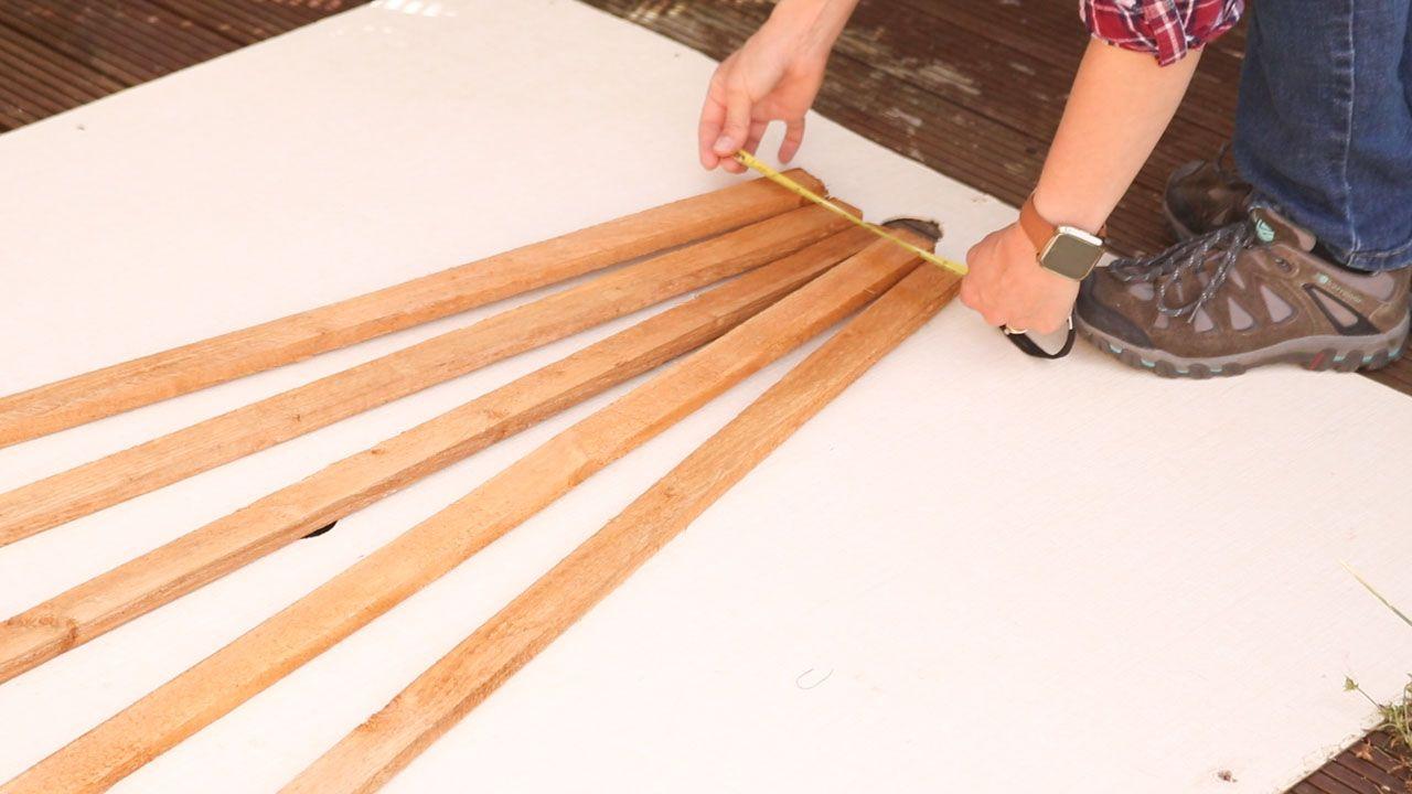 How to Make & Hang Wooden Trellis Wooden trellis