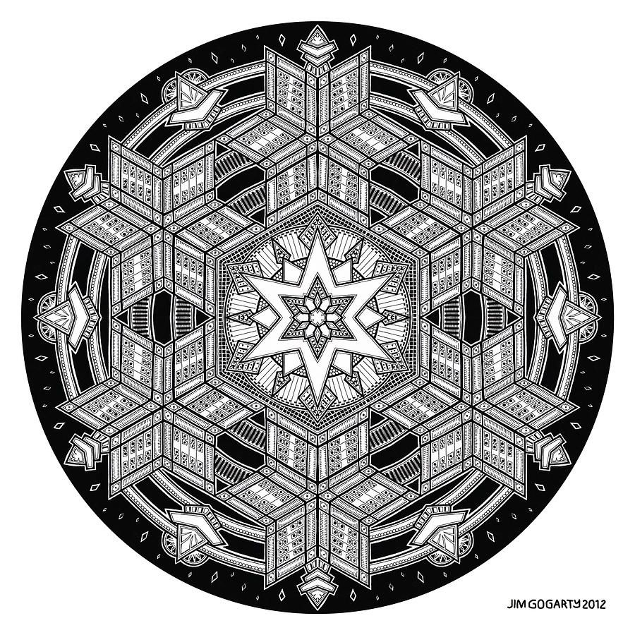The mandala coloring book jim gogarty - Mandala Drawing 35