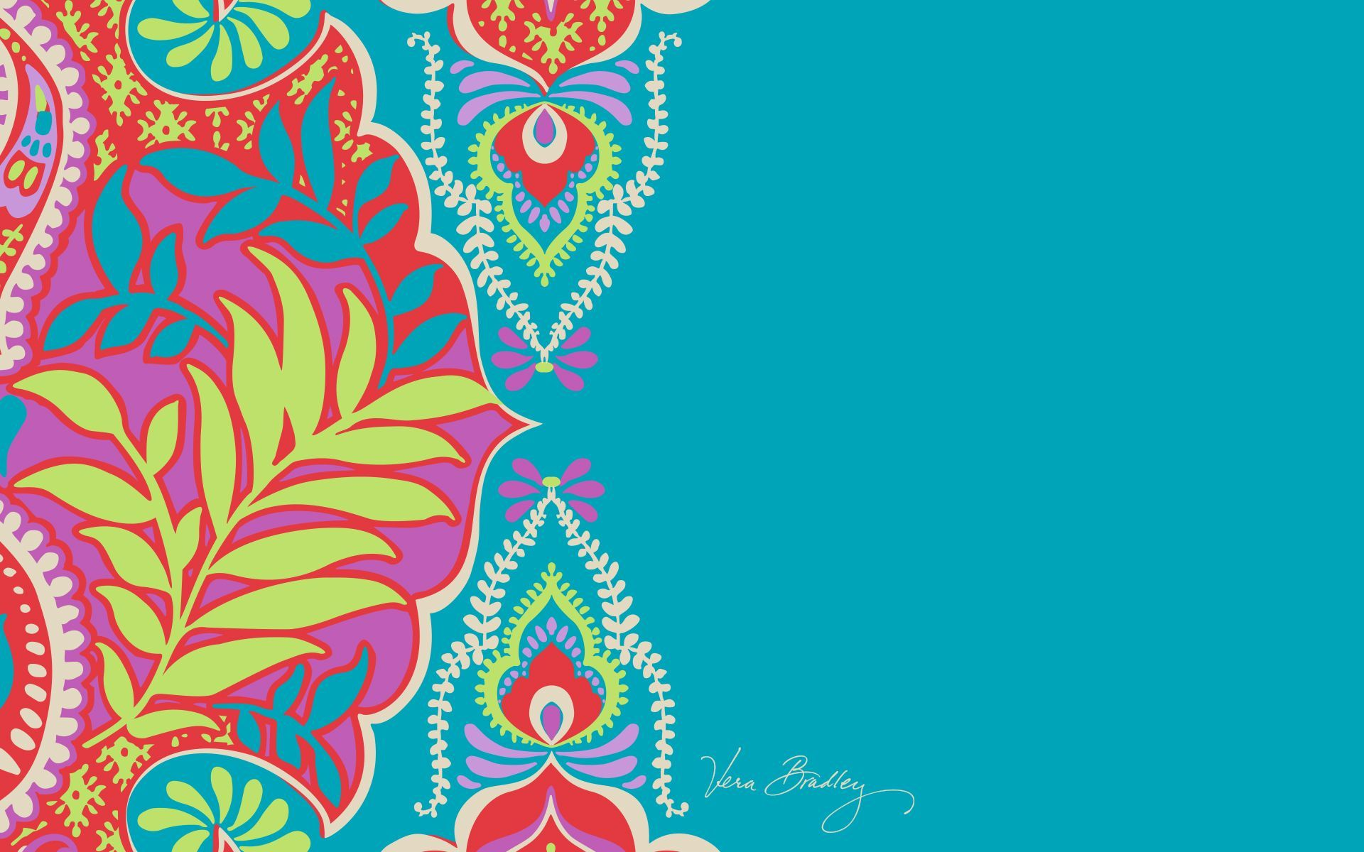 Vera Bradley Paisley In Paradise Desktop Wallpaper Crafts