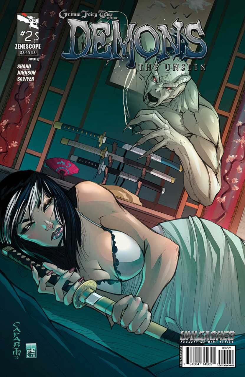 Grimm Fairy Tales presents Demons: The Unseen #2 (Issue)