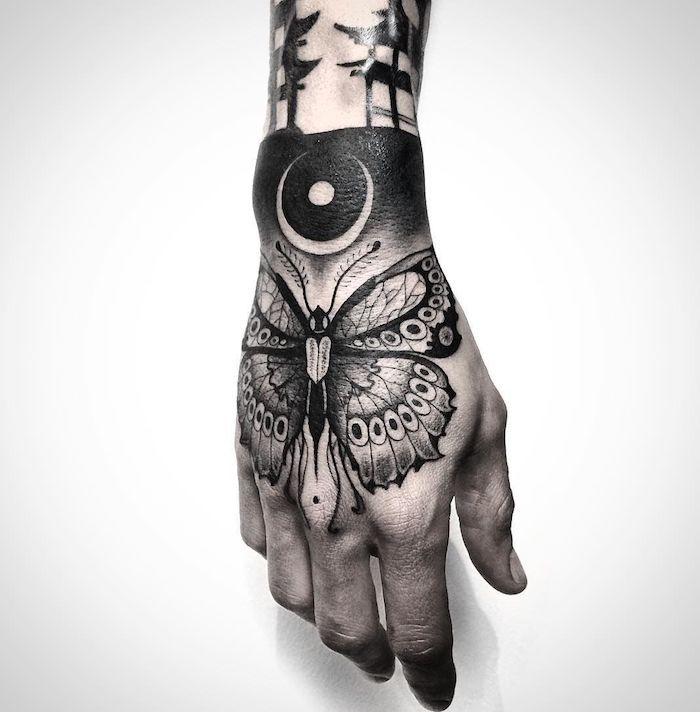 Photo of ▷ 1001 + Ideen für coole Hand Tattoos mit Bedeutung