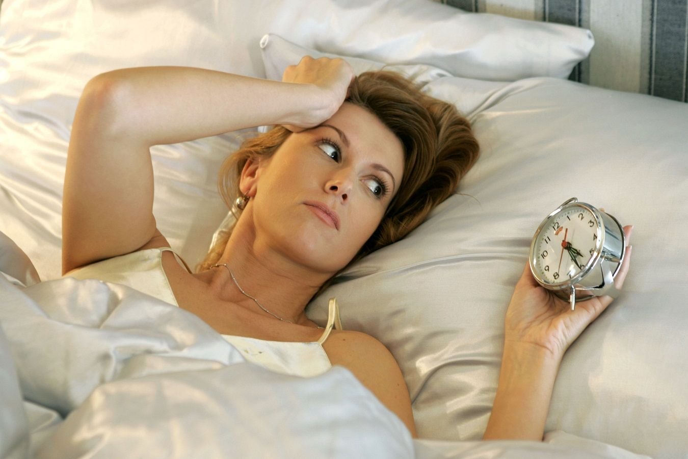 Sometimes, falling asleep isn't the problem: It's waking up in the middle of the…