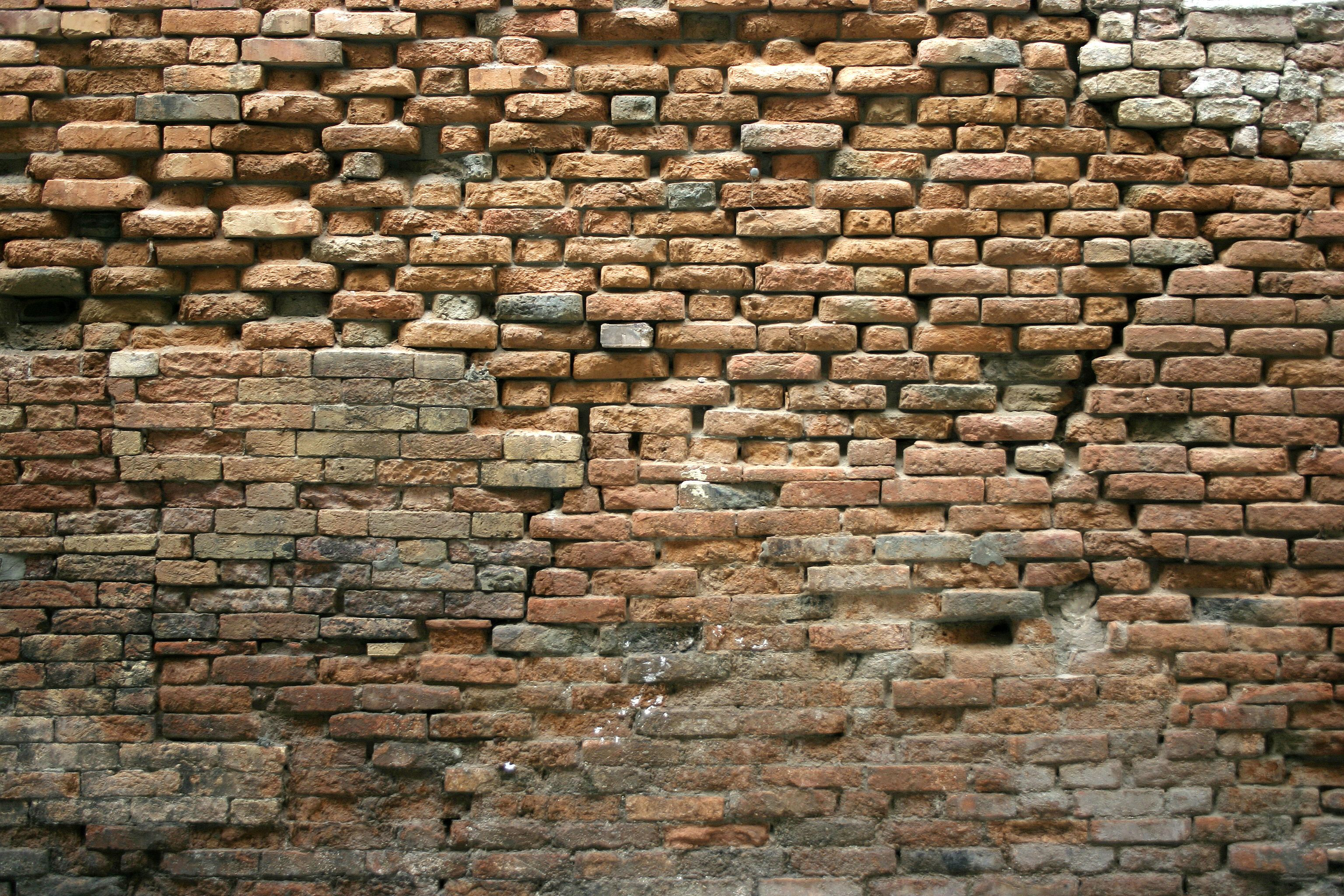 Pared de ladrillo viejo buscar con google bricks - Muros de ladrillo visto ...