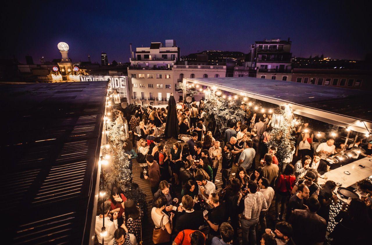 Image result for barcelona nightlife rooftop