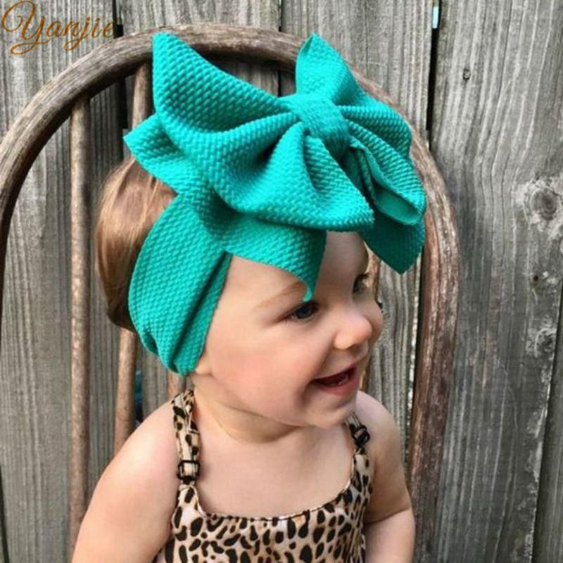 TEAL BLUE Toddler Headwraps Big Bow on Clip Big Bow on Nylon Big Bow Headwraps Big Bows Big Bow Baby Headbands Baby Headwraps