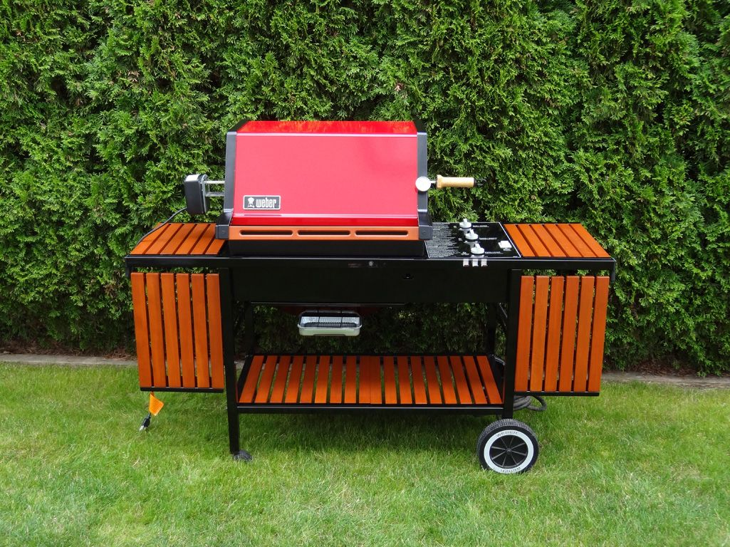 All Out Red Genesis 2200 Platinum Restore Pic Heavy Weber Gas Grills Weber Grill Restoration