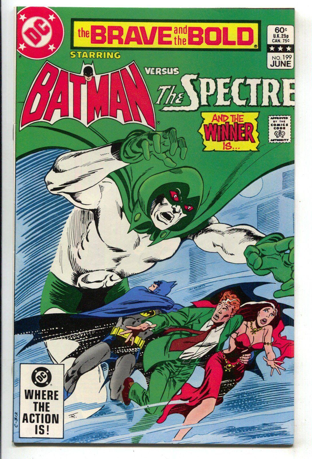 Brave And The Bold 199 1st Series Dc 1983 Nm Batman Spectre Jim