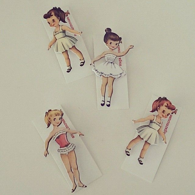 """""""These lovely ladies will be in-store @kiozwihandmade next week! #craft #vintage # paperdolls #brooches #Preston #3071"""" Photo taken by @sugarmousemelb on Instagram, pinned via the InstaPin iOS App! http://www.instapinapp.com (02/19/2015)"""