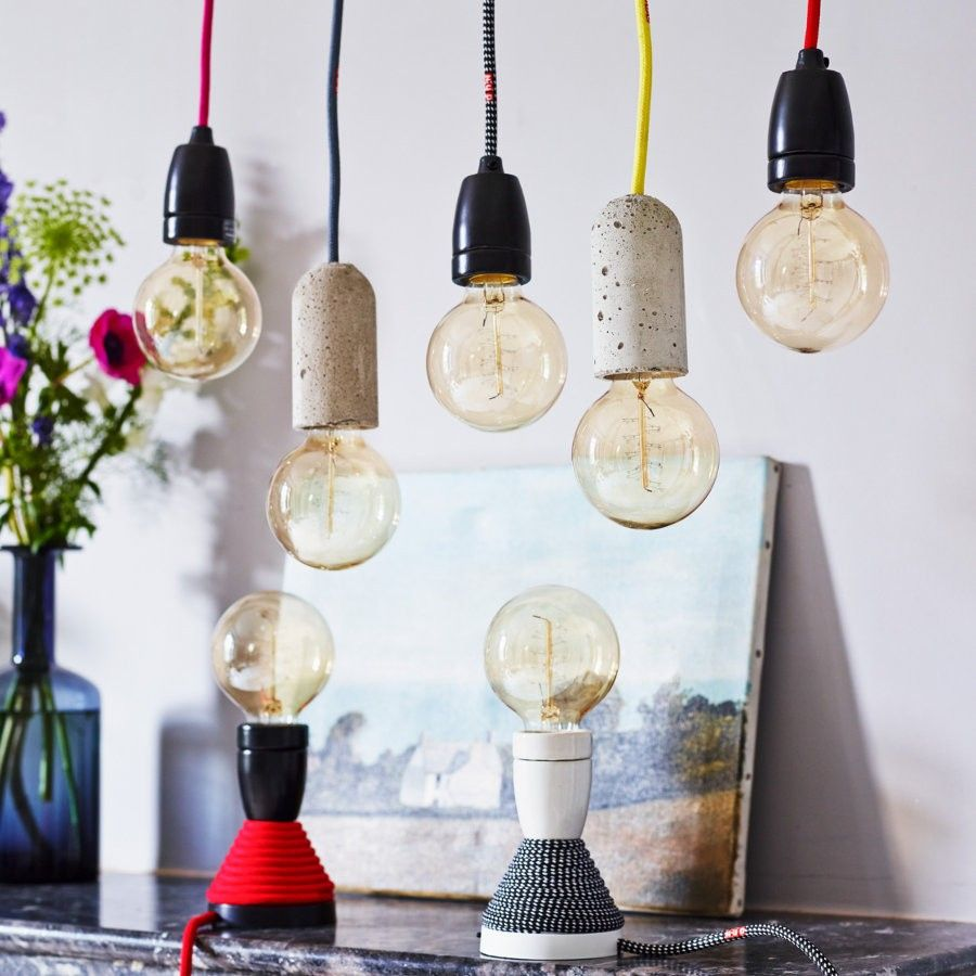 Black and yellow pendant light lighting Pinterest Pendant