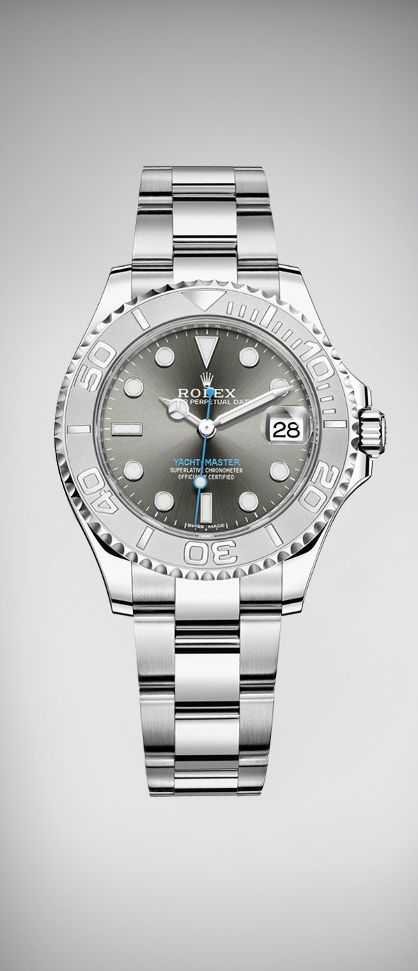 4d5081acf1e The Rolex Yacht-Master 37 in Rolesium