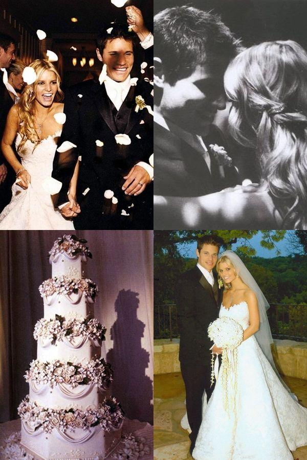 Jessica Simpson Nick Lachey Wedding Wedding Dresses Pinte