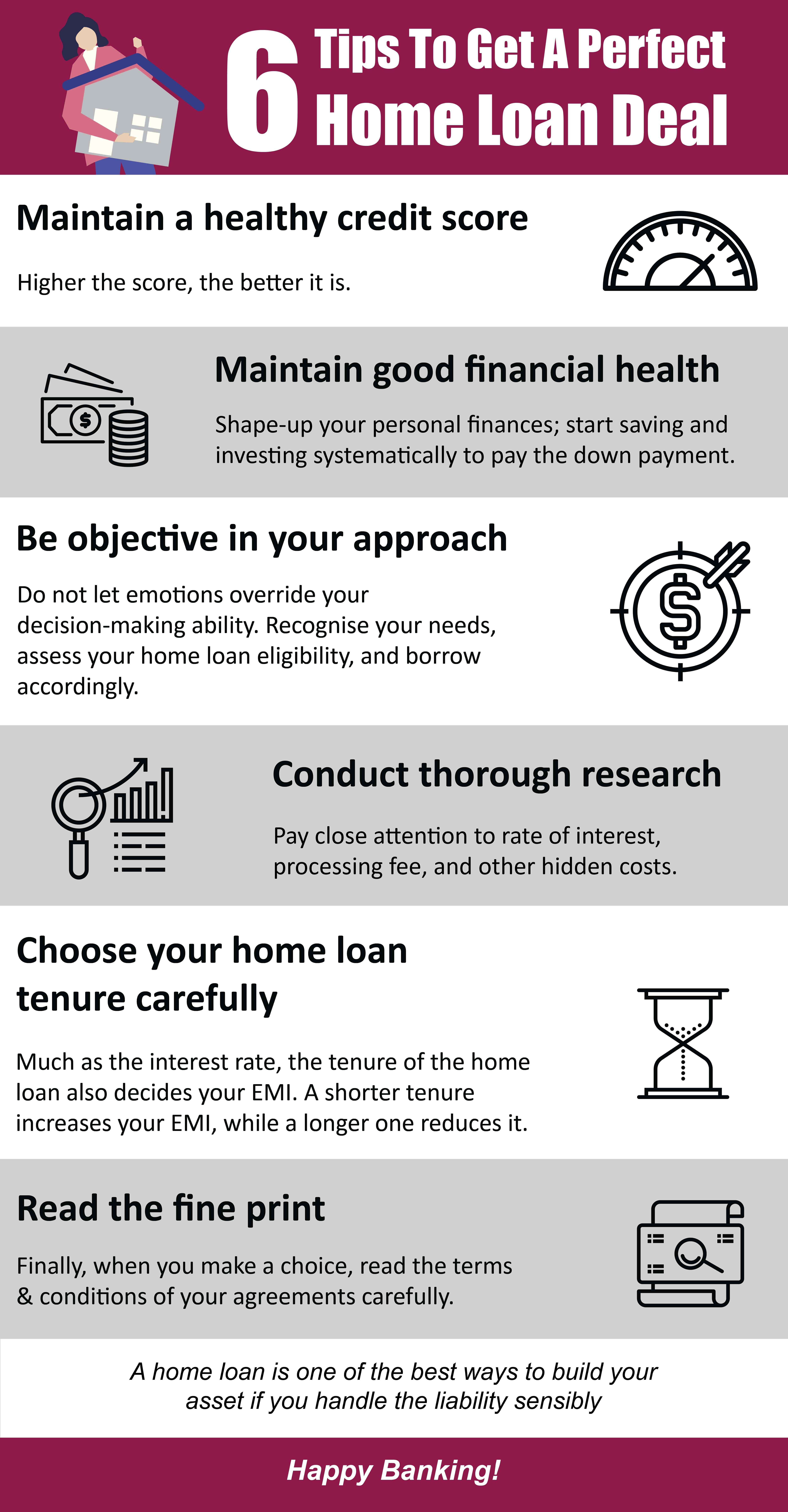 6 Tips To Get A Perfect Home Loan Deal Axis Bank In 2020 Essay Competition Writing Titles Financial Health